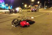 Chạy ngược chiều tông xe ben, 1 thanh niên tử vong