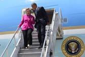 Bà Clinton bị đòi tiền bay trên chiếc Không lực 1 với TT Obama
