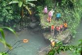 Hơn 40 người tìm du khách té thác Đam B'ri