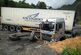 Xe container gây tai nạn kinh hoàng, 5 người thương vong