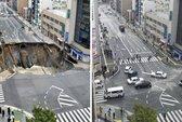 Nhật Bản lấp hố tử thần khổng lồ trong... 2 ngày