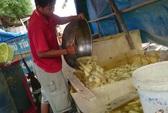 Video clip: Khiếp đảm công nghệ sơ chế măng thối