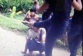 Xuất hiện clip cô gái trẻ bị tát, đá bất tỉnh tại chỗ