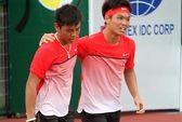 Hoàng Nam - Hoàng Thiên lần đầu vô địch đôi ITF
