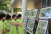 Triển lãm ảnh voọc chà vá chân nâu ở Sơn Trà