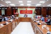 Họp báo về vụ nổ tại trụ sở Công an tỉnh Đắk Lắk