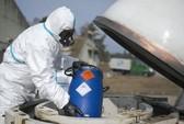 Mỹ tấn công kho vũ khí hóa học của IS