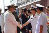Tàu khu trục Hải quân Nga thăm Đà Nẵng