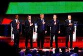 Donald Trump nghẹt thở trong cuộc tranh luận trước
