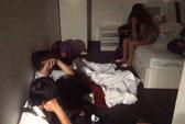 Đột kích khách sạn, phát hiện cả trăm nam nữ nghi sử dụng ma túy