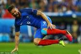 Tuyển Pháp lo lắng với chấn thương của Giroud