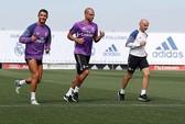 Ronaldo trở lại tập luyện cùng Real