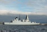 Chiến hạm Anh hơn 1 tỉ USD