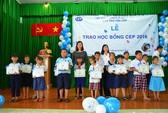 Quỹ CEP trao 130 suất học bổng cho con thành viên nghèo
