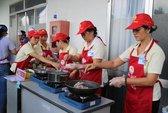 Tuyên truyền bữa ăn an toàn cho công nhân