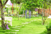 Khu vườn 3000 m2 rợp cây xanh trên đất cằn, nước mặn ở Sài Gòn