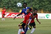Xem cầu thủ U19 Timor Leste hạ đo ván cầu thủ Malaysia