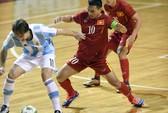 Tuyển futsal Việt Nam suýt gây sốc Argentina