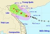 Tối nay 27-7, bão số 1 đổ bộ vào Quảng Ninh-Nam Định