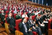 Ngày 23-1, Đại hội XII quyết số lượng Trung ương khóa XII