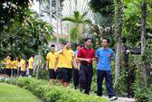 Tuyển Việt Nam giao lưu với làng trẻ em SOS Gò Vấp