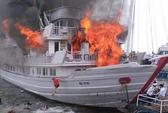 Cháy tàu du lịch cao cấp: Bồi thường 18 triệu cho 3 du khách Đài Loan