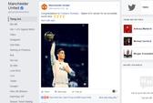 M.U bị chỉ trích vì đăng ảnh chúc mừng Ronaldo
