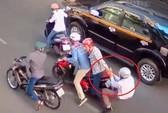 TP HCM: Dàn cảnh va chạm, cướp xe táo tợn trên đường