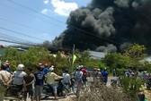 Cháy lớn tại nhà xưởng bao bì