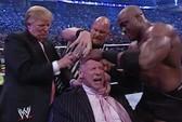 Ông Donald Trump từng tát, cạo đầu ông chủ sàn đô vật Mỹ