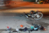 Xe máy tông nhau, 1 người chết, 2 người trọng thương
