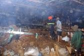 Công ty dệt cháy dữ dội, PCCC 2 tỉnh điều lực lượng dập lửa
