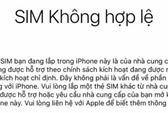 iPhone khóa mạng ở Việt Nam cẩn thận khi reset
