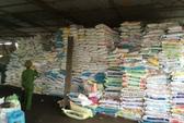 Đình chỉ cơ sở sản xuất phân bón từ đất, vỏ hạt cà phê