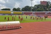 Tối gặp tuyển Việt Nam, trưa nắng Triều Tiên vẫn ra sân tập