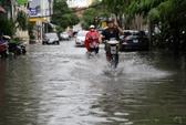 Đường vào sân bay Tân Sơn Nhất lại ngập