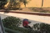 Một người nước ngoài rơi từ tầng 5 Học viện Ngân hàng