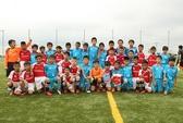 Kết thúc Trại hè bóng đá thiếu niên Toyota 2015 đầu tiên