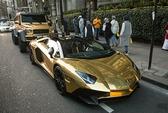 Dàn siêu xe mạ vàng xuất hiện tại Anh