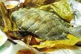 Cá dìa nướng lá chuối ăn một lần là lên