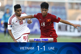 Clip: Trọng tài ngăn U19 Việt Nam thắng UAE