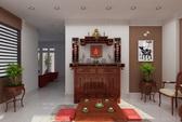 10 lưu ý vàng khi đặt bàn thờ trong nhà