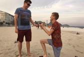 Thêm màn cầu hôn đồng tính gây sốc ở Olympic Rio