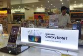 Xuất khẩu điện thoại sụt giảm sau sự cố Galaxy Note 7