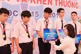 5 học sinh đọat HCV Olympic toán nhận học bổng toàn phần