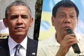 Ông Obama hủy cuộc gặp với tổng thống Philippines