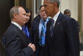 Ông Obama và Putin dành cho nhau ánh mắt lạnh lẽo