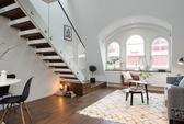 Căn hộ 2 tầng có thiết kế nội thất thông minh