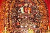 Tượng Phật bà nghìn tay nghìn mắt ở Hưng Yên bị đánh cắp
