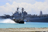 Tàu chiến Mỹ tập trận ở biển Đông